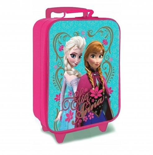 cc9cd7f958 Disney Valigia per bambini, Aqua (Turchese) – FROZEN 001025 – TravelKit