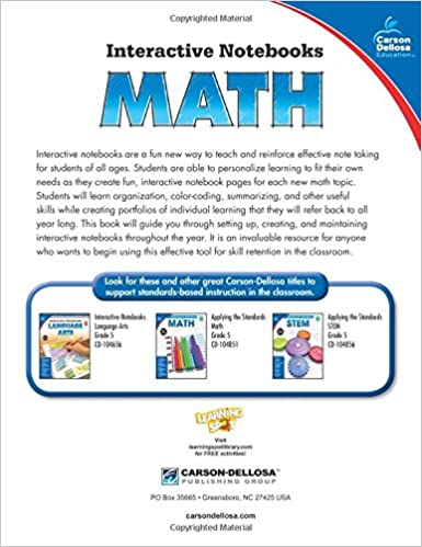 Workbook coordinate plane worksheets that make pictures : Amazon.com: Math, Grade 5 (Interactive Notebooks) (0044222245719 ...