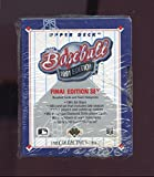 1991 Upper Deck Final Edition Baseball Card Complete Box Set FACTORY SEALED