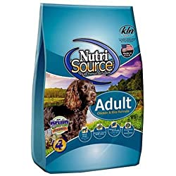 Tuffy's Pet Food NutriSource Chicken and Rice Adult Dog Food, 6.6-Pound
