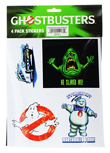 Cheap  Ghostbusters 4 Pack Stickers