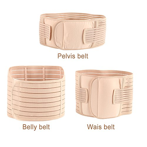 fd17c48590 Enjoygous 3 in 1 Postpartum Pregnancy Girdle Support Recovery Belly Band  Corset Wrap Body Shaper Abdominal