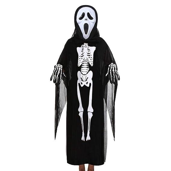 ❤ Conjunto de Cosplay de Halloween para niños, Conjunto de Trajes de Disfraz + máscara + Guantes de niños pequeños Absolute: Amazon.es: Ropa y accesorios