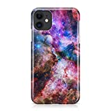 Obbii iPhone 11 Case Outer Space Nebula Galaxy Design, Shockproof Slim TPU Soft Flexible Rubber Gel Protective Case Cover Compatible with iPhone 11 (6.1 inch) 2019