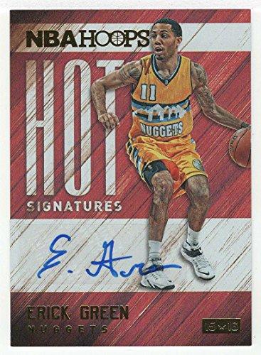 Erick Green (Basketball Card) 2015-16 Panini NBA Hoops Hot Signatures # HS-EG Mint Autograph ()