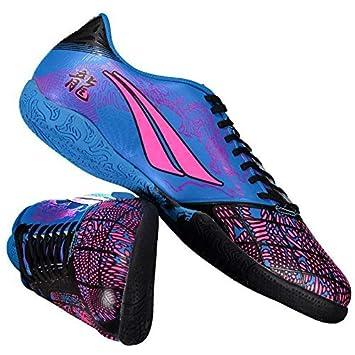 125f7e5f8f81d Chuteira Penalty Victoria Dragon VII Futsal Azul e Rosa: Amazon.com ...