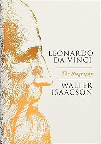 Leonardo Da Vinci Biography Book