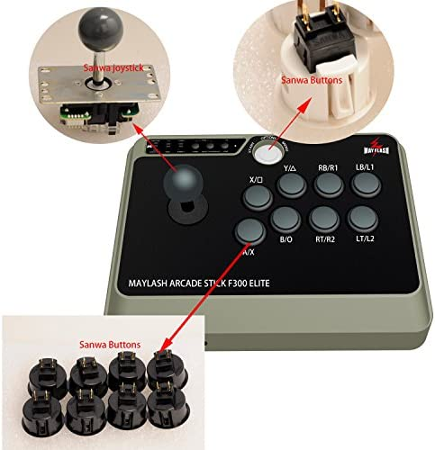 F300 Elite Arcade Stick F300 Elite für PS4/PS3/Xbox One/Xbox 360/PC/Android/Switch