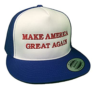 Make America Great Again Donald Trump Hat - Red, White & Blue