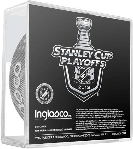 Fanatics Authentic Certified Dallas Stars Unsigned InGlasCo 2019 Stanley Cup Playoffs Official Game Puck