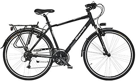 Bianchi City Bike 28 Spillo Topazio Uomo 24v Blackmattck Amazon
