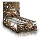 クエストニュートリション(Quest Nutrition) プロテインバー シナモンロール (60g x 12本) [海外直送][並行輸入品]