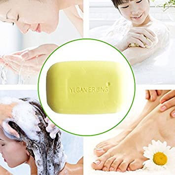 Hot Sulphur Soap Cleansing Soap Anti Bacteria Fungus Skin Care Moisturizing Soap Bath & Shower