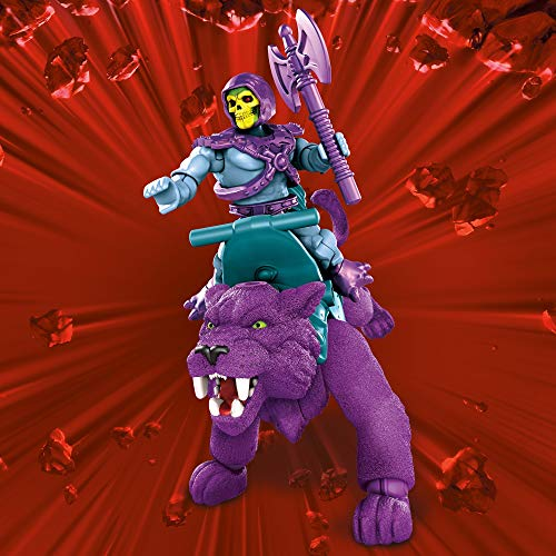 Mega Construx Masters of The Universe Skeletor️ and Panthor️ Construction Set, Building Toys for Kids