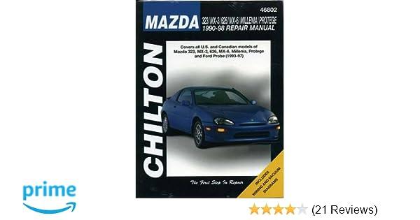 Mazda 323 mx 3 626 millenia and protege 1990 98 haynes repair mazda 323 mx 3 626 millenia and protege 1990 98 haynes repair manuals chilton 9780801991301 amazon books fandeluxe Image collections