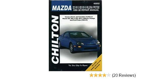 Mazda 323 mx 3 626 millenia and protege 1990 98 haynes repair mazda 323 mx 3 626 millenia and protege 1990 98 haynes repair manuals chilton 9780801991301 amazon books fandeluxe Choice Image