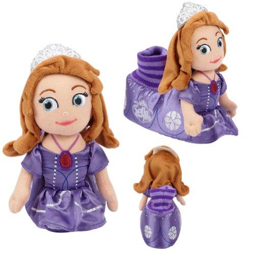 Disney Prinzessin Sofia Hausschuhe ~ Mädchen Gr. Small = 21/22