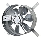​iLIVING​ Newest Automatic Gable Mount Attic Ventilator Fan with Adjustable Thermostat, 3.10 Amps