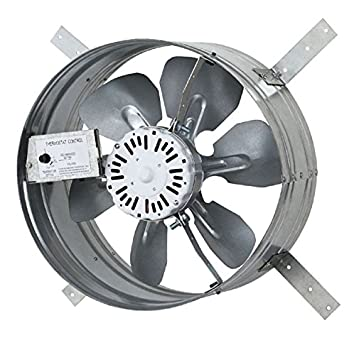 iLIVING ILG8G14-12T Newest Automatic Gable Mount Attic Ventilator Fan with Adjustable Thermostat 3.10  sc 1 st  Amazon.com & Amazon.com: iLIVING ILG8G14-12T Newest Automatic Gable Mount Attic ...
