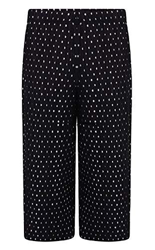 21fashion Unique Pantalon Gris Noir Taille Femme Imprimé CwxZrRC