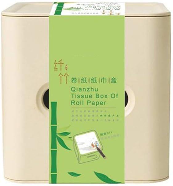 Herramienta de cocina Bandeja cuadrada de servilletas para caja de pañuelos de papel servilleta para oficina en casa higiénico: Amazon.es: Hogar
