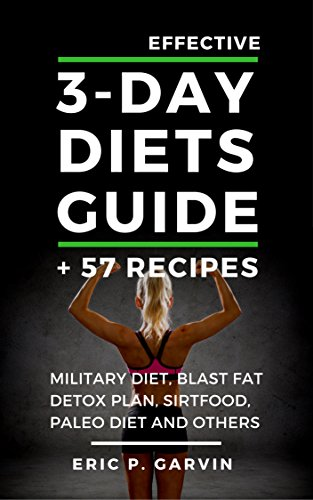 Effective 3 Day Diets Guide Military ebook product image