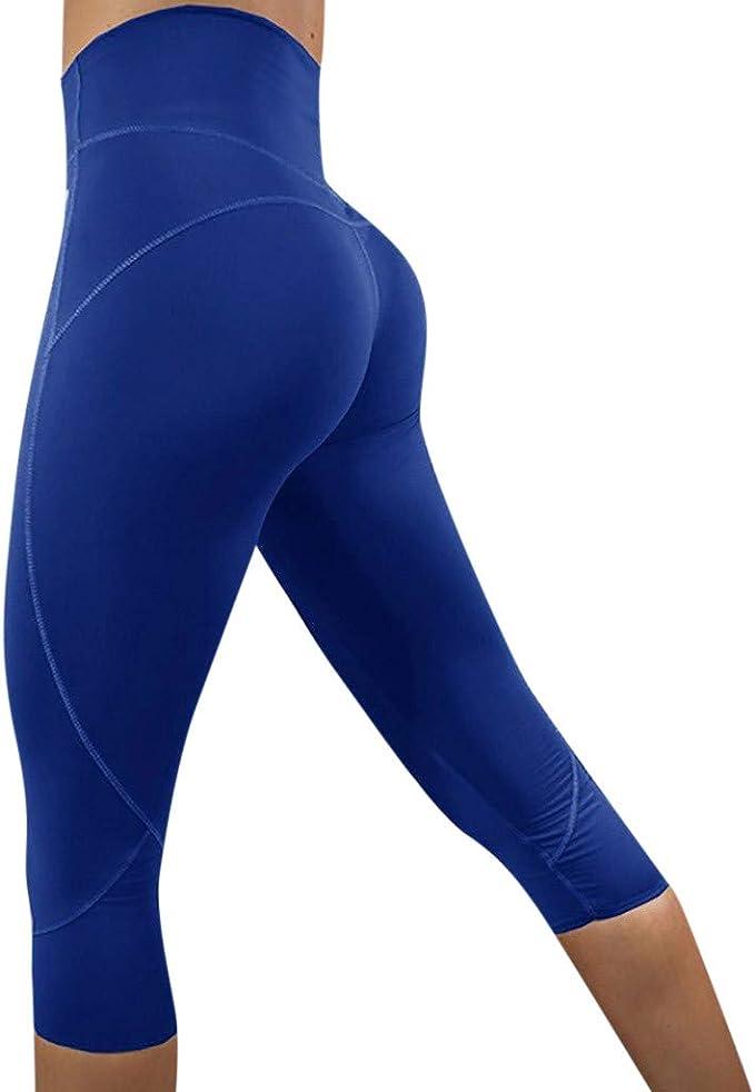 Berimaterry Mujer Casual Impreso Sporting Fitness Leggings Yoga ...