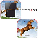 Dancing Horse Decorative Video Game Decal Cover Skin Protector for Nintendo 2Ds