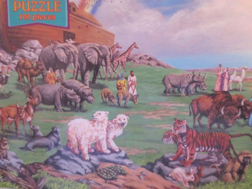 Noah's Ark 2 ... Bible Puzzle ... 100 pieces