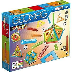 Geomag Classic Confetti 352 Costruzioni Magnetiche E Giochi Educativi 50 Pezzi