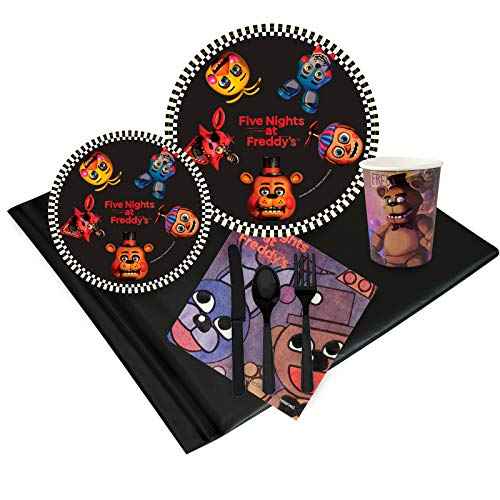 Five Nights at Freddys Party Supplies Party Pack (16) ()