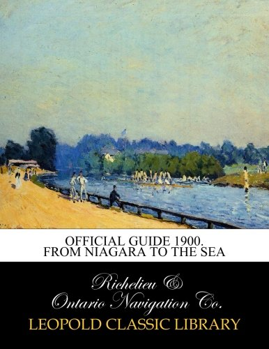 Official guide 1900. From Niagara to the sea PDF