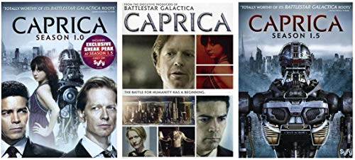 Caprica: The Complete Series + Feature Length Movie (8 Discs)