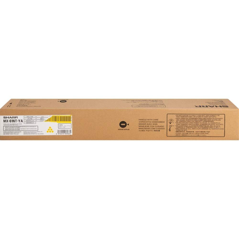 Amazon.com: Sharp Brand Name Cyan Toner 24K MX3070N MX3570N ...