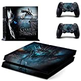 FidgetFidget PS4 Skin Sticker Game of Thrones for PS4 PlayStation4 Console 2 Controllers