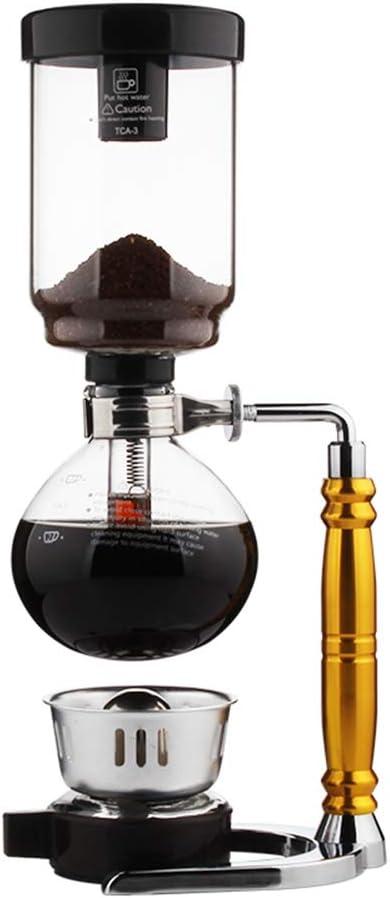 Cafetera Sifón (Sifón) de 3 o 5 tazas con quemador de alcohol ...