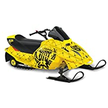 Silver Star AMR Racing Ski-doo Mini Z Kids 2003-2008 Sled Snowmobile Graphics...