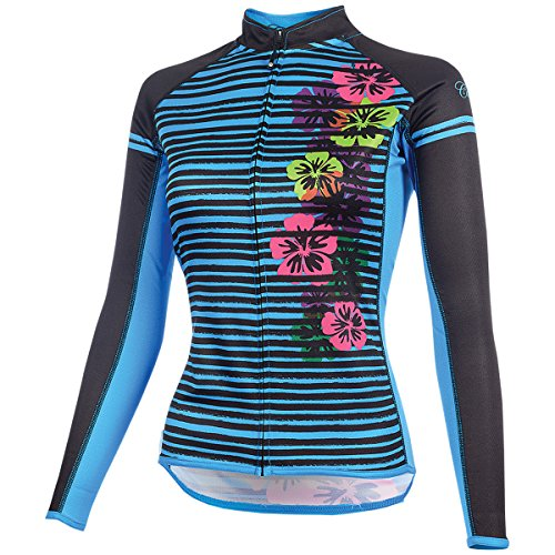 CANARI Women's Gwen Jersey, Azure Blue, Medium
