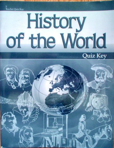 History of the World (Abeka Quiz Key, 7) for sale  Delivered anywhere in USA