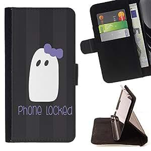 King Case - FOR Samsung Galaxy S4 IV I9500 - phone locked - Prima caja de la PU billetera de cuero con ranuras para tarjetas, efectivo Compartimiento desmontable y correa para la mu?eca