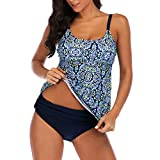 Women s Slimming Tummy Control Tankinis Swimwear Swimsuit Retro Sport Backless Bathing Suit for Women