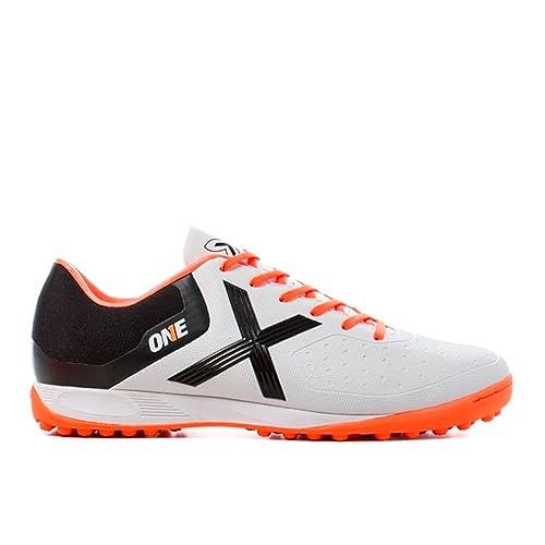 Munich - Zapatillas de fútbol sala de Material Sintético para hombre blanco Bianco: Amazon.es: Zapatos y complementos