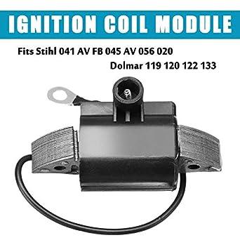 Amazon com: 1Pcs Ignition Coil Module Fit for Stihl 041 AV FB 045 AV