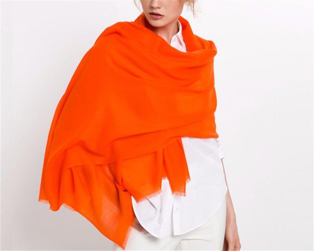 DIDIDD Pañuelos bufandas de lana bufandas otoño invierno chales de lana,D