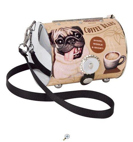 PopTank Handbag - Pop Culture Made Fabulous - Pug - Littlearth Petite Purse