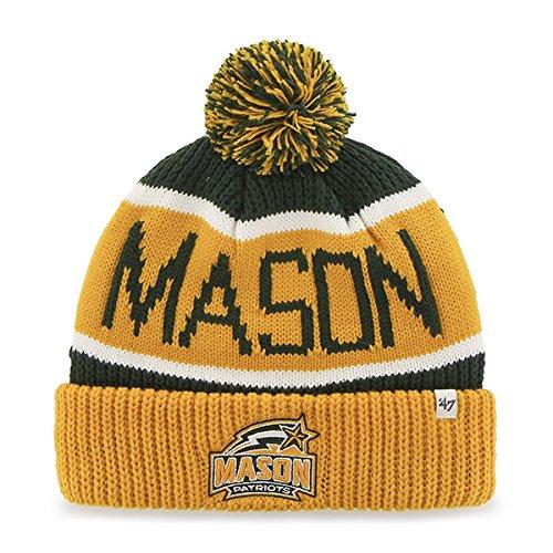 - George Mason Patriots Yellow Cuff