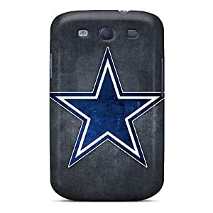 Snap-on Case Designed For Galaxy S3- Dallas Cowboys Logo