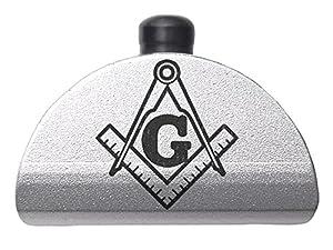 Glock Gen 1-3 Grip Frame Slug Plug AL1 Silver NDZ - Choose Your Design