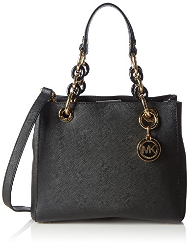 michael kors women 39 s cynthia small leather satchel top handle bag. Black Bedroom Furniture Sets. Home Design Ideas