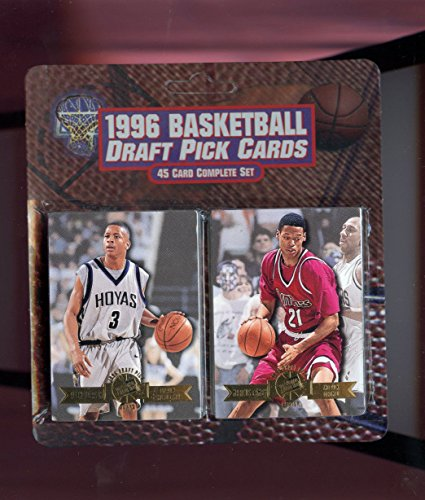 1996-97 Press Pass Basketball Draft Picks Complete Set Kobe Bryant Rookie Card